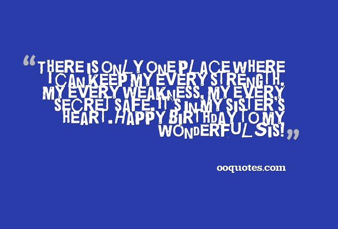 sister s birthday quotes