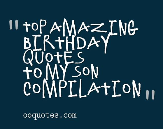 mother birthday quotes from son - photo #34