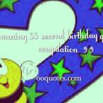 Best 33 second birthday quotes compilation