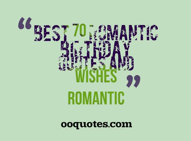 romantic birthday quotes