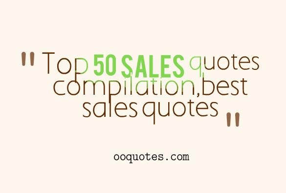 Top 50 sales quotes compilation – quotes