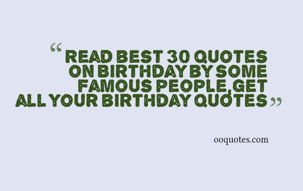 4 birthday quotes