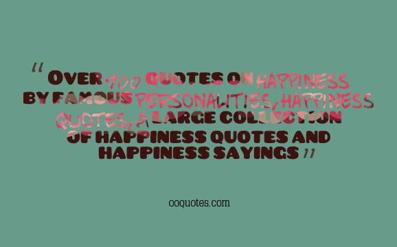 6 happiness quotes
