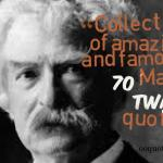Collection of amazing and famous 70 Mark Twain quotes