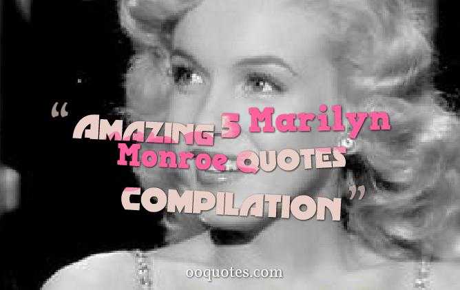 Amazing 50 Marilyn Monroe quotes compilation