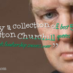 Enjoy a collection of best 50 Winston Churchill quotes on friends,leadsership,success,war