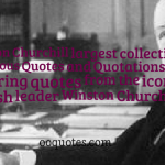 Winston Churchill largest collection of Famous Quotes and Quotations,36 inspiring quotes from the iconic British leader Winston Churchill.