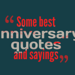 Some best anniversary quotes and sayings