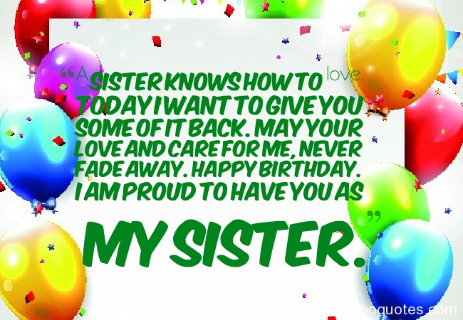 Sister Birthday Quotesbirthday Wishes For Sisterbirthday Quotes
