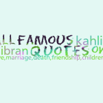 All famous kahlil gibran quotes on love,marriage,death,friendship,children