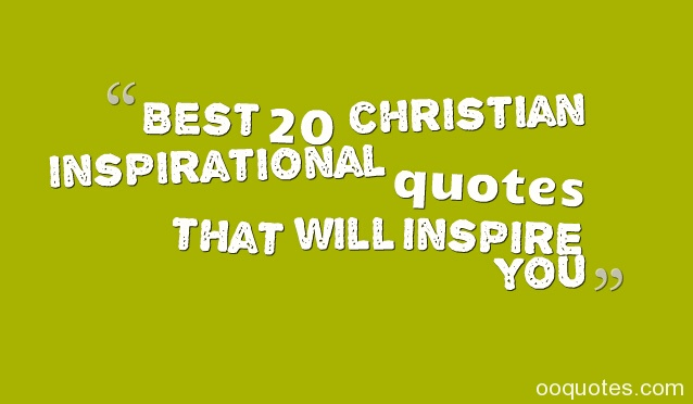 BEST CHRISTIAN Quotes Like Success