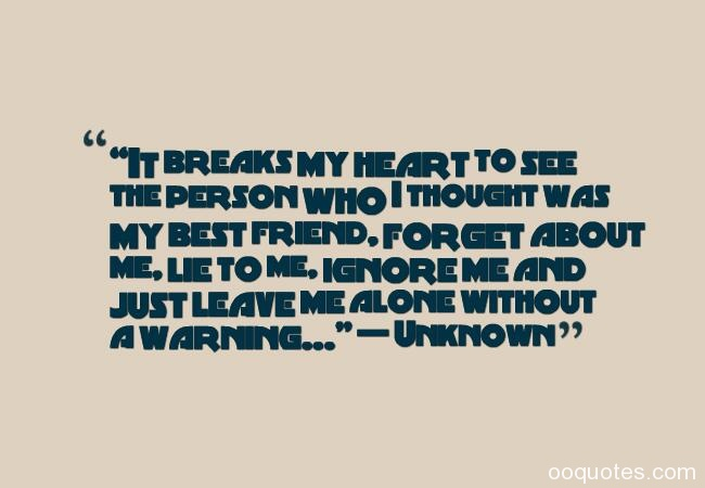 broken friendship quotes