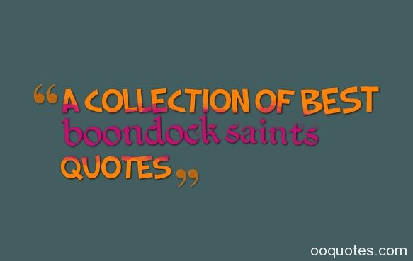 boondock saints quotes