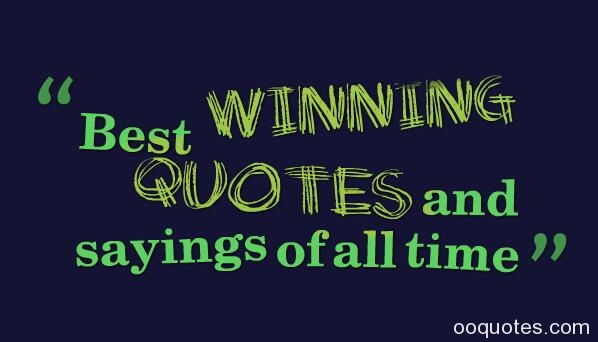 Funny Sayings About Winning