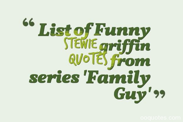 stewie griffin quotes