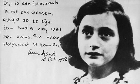 the ignored lesson of anne frank thesis