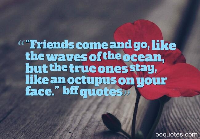 Friends Come And Go Like Seasons Quotes : Collection of beautiful quotes and sayings about best